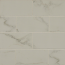 Bedrosians 3x6 Field Tile Statuary(White with Gray)