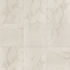 Carrara 3.25x6.5 Textured Porcelain Tile in Calacata white with gray and gold