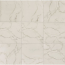 Carrara 20x20 Polished Porcelain Tile in Statuary white with Gray