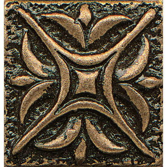 Bedrosians 1x1 Metal Resin Insert Rising Star Bronze