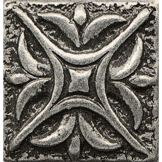 Bedrosians 1x1 Metal Resin Insert Rising Star Pewter