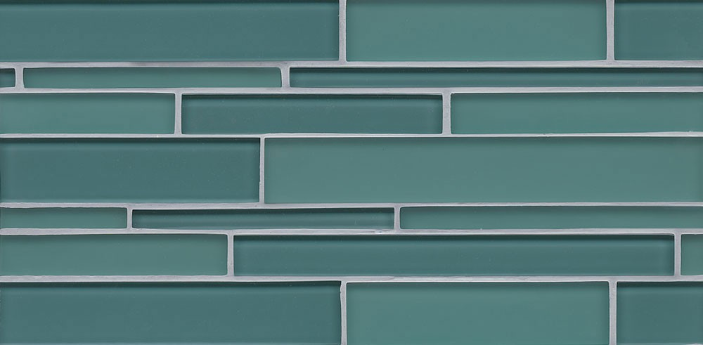 Hamptons Glass 9/16x6 Stick Liner in Wave Teal