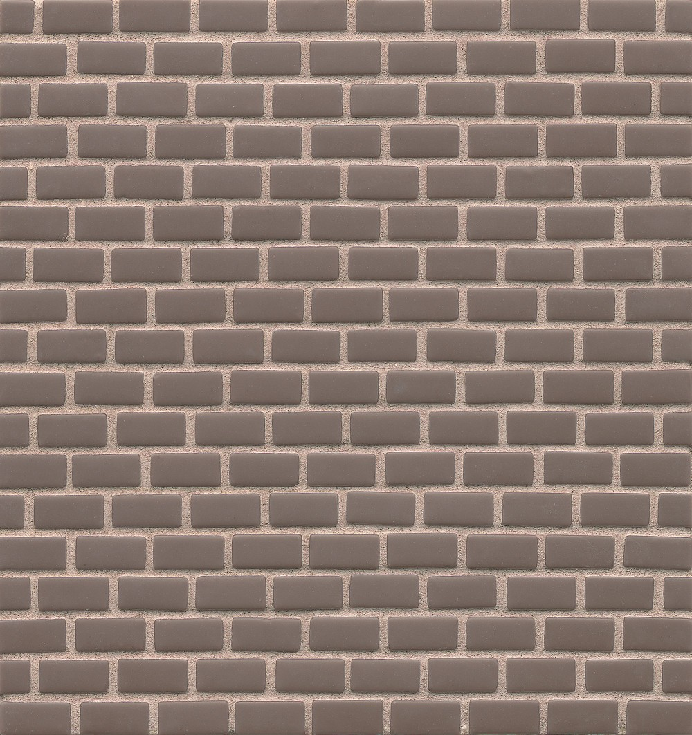 ID-ology Glass 1/2x1 Staggered Mosaic - Solid Matte in Twill