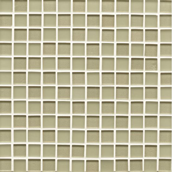 Bedrosians 1x1 Mesh Mounted Mosaic on 12x12 Sheet Manhattan Pistachio