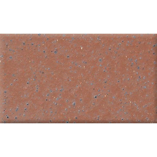 "Bedrosians  Quarrybasics X-Colors Series 4"" x 8"" Tile in Commercial Red"