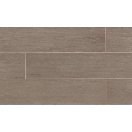 ALLWAYS TILE 8X48 IN BENCH TAUPE