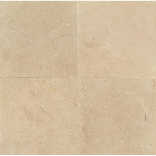 Bedrosians Marble  24 x 24 x 3/4 Crema Marfil Classic Polished