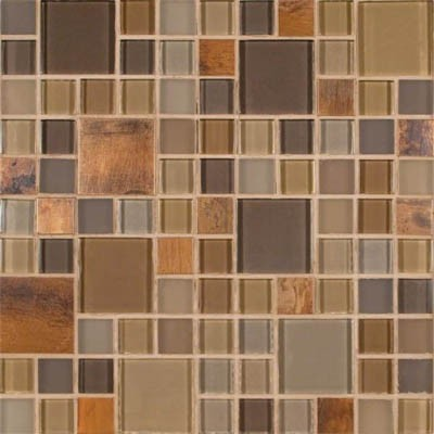 MS International Metal Mosaics Metropolitan Blend