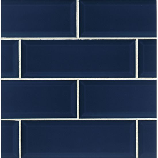 4x12 Glossy Beveled Wall Tile