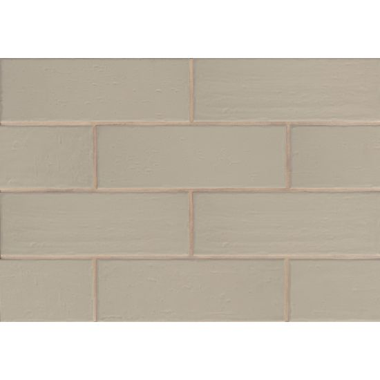 "Bedrosians  Aura Series 4"" x 12"" Tile in Breeze"