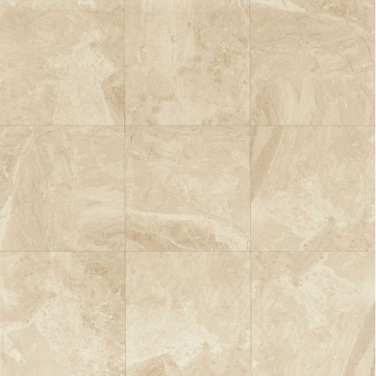 Classic 12x12 Porcelain Tile in Cremino