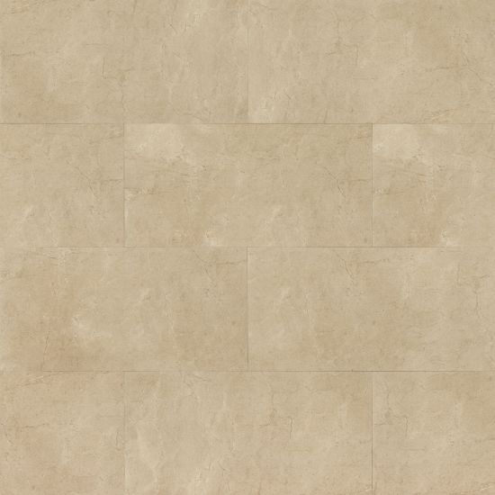 Marfil 12x24 Porcelain tile in Crema