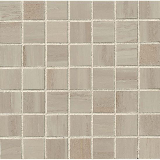 "Bedrosians  Rose Wood Series 12"" x 12"" Tile in Silver"