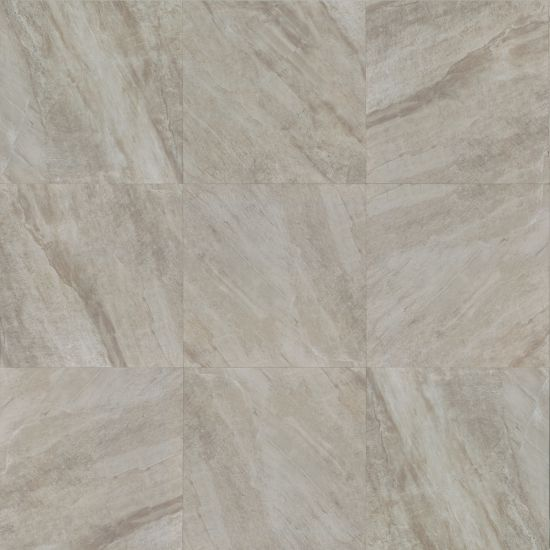 "Bedrosians  Stone Mountain Series 24"" x 24"" Tile in Silver"