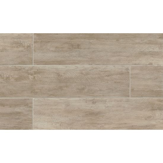 River Wood 8x36 Porcelain Tile in Oak