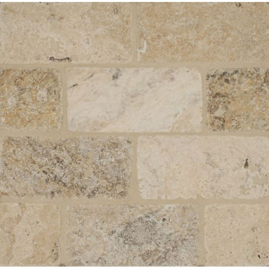 Bedrosians Travertine PHILADELPHIA 3X6 TUMBLED