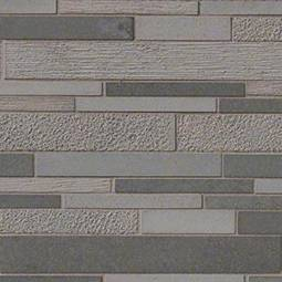 Mystic Gray Interlocking Mixed Finish