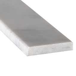 Turkish Carrara 4x36x0.75 Polished Double Beveled